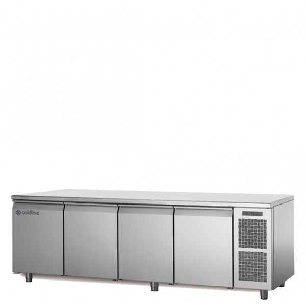 Coldline 4 Door Pastry Undercounter Chiller TS21/1MJ+B12