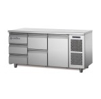 Coldline Master 1 Door+5 Drawer Counter Chiller TS17/4M