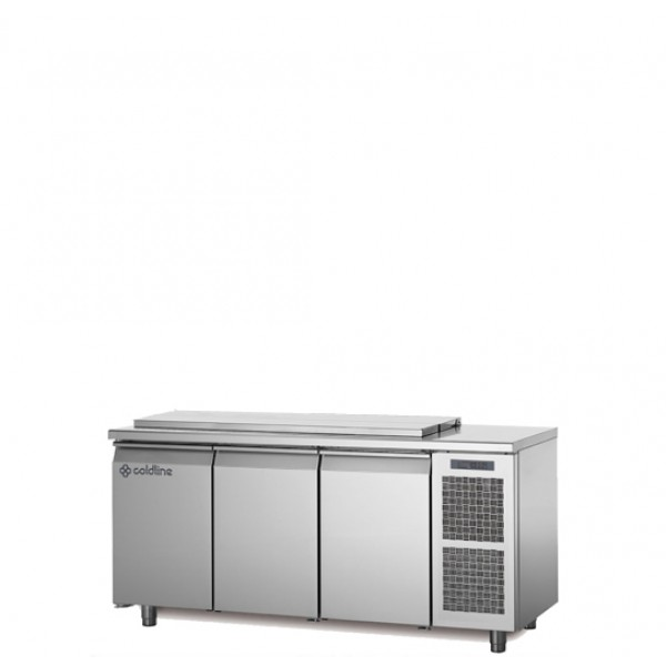 Coldline 3 Door Salad Undercounter HS17/1MD340