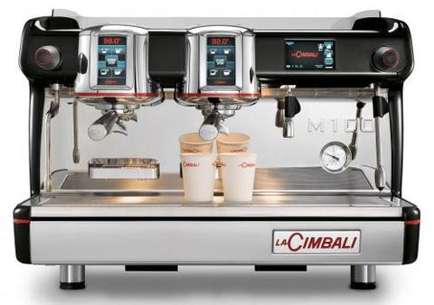 Lacimbali Espresso Coffee Machine With 2 Group M100 HD DT/2
