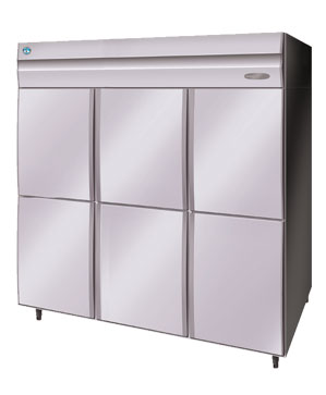 Hoshizaki A-FIT 6 Half Door Upright Freezer HFE-187MA