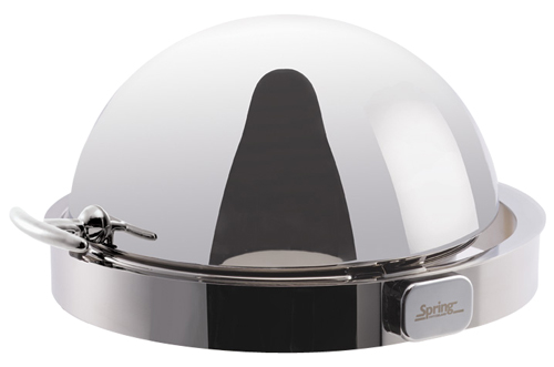 Spring Built-In Round Chafing Dish