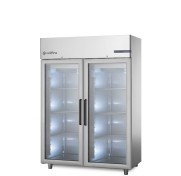 Coldline Master 2 Full Glass Door Upright Chiller A140/2NV