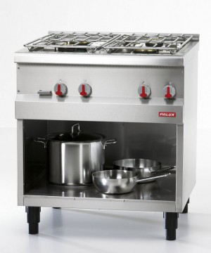 Palux Functionline 4-Burner Gas Range, 800945