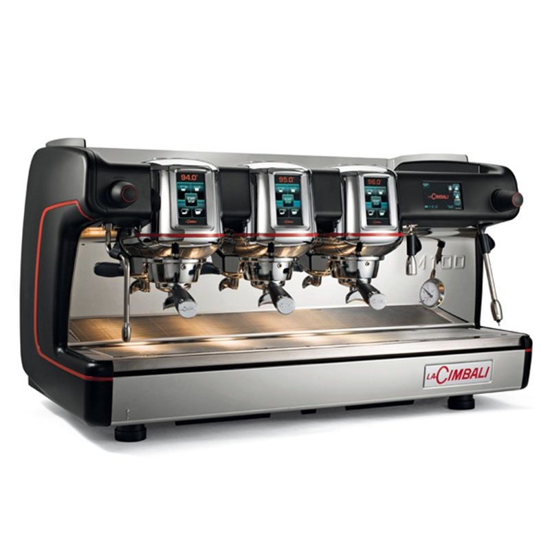 Lacimbali Espresso Coffee Machine With 3 Group M100 HD DT/3