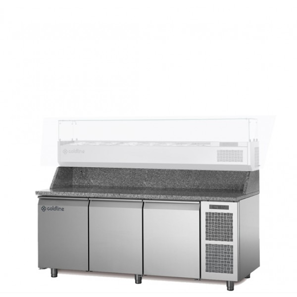 Coldline 3 Door Pizza Undercounter TZ17/1M