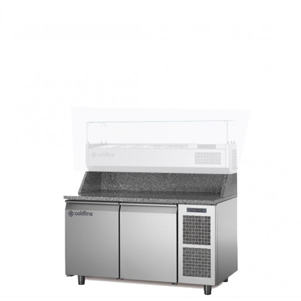 Coldline 2 Door Pizza Undercounter TZ13/1M